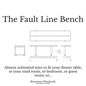 Fault Line Bench