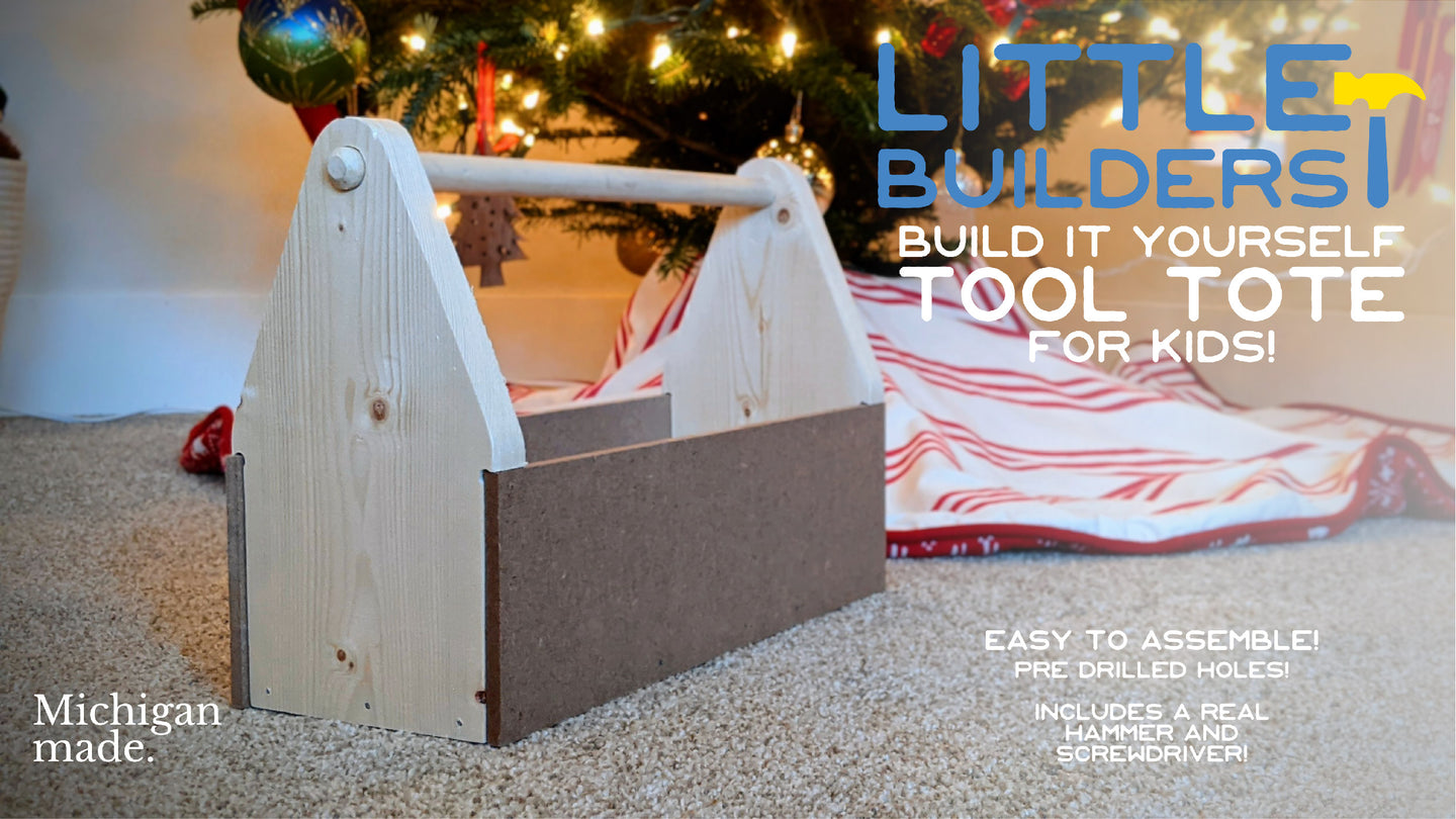 DIY Tool Tote Kit For Kids