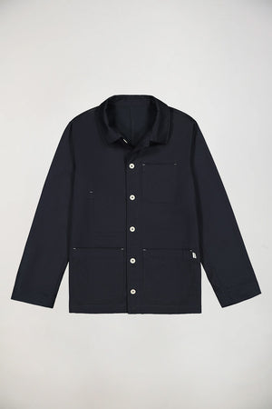 M.N Dark Navy Standard Jacket