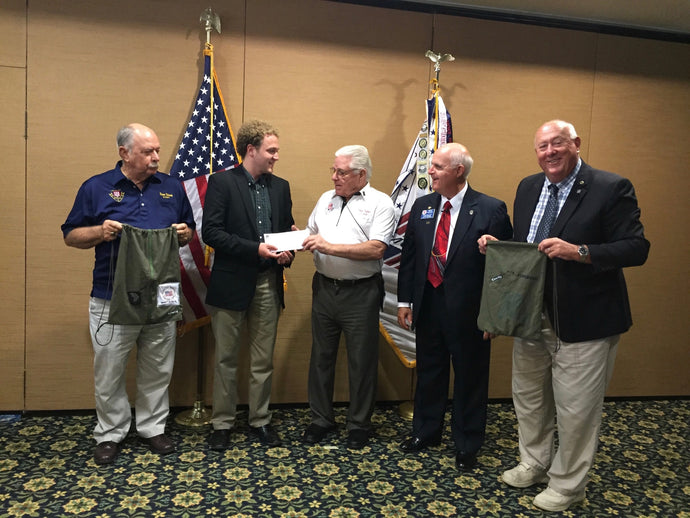 CHUTE donates $250 to Veterans Foundation