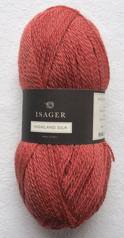 Highland Silk, Coral red