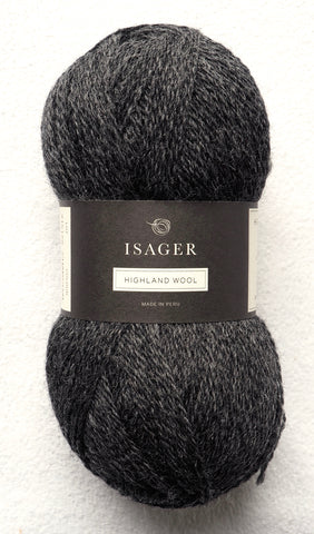 Highland Wool, Charcoal