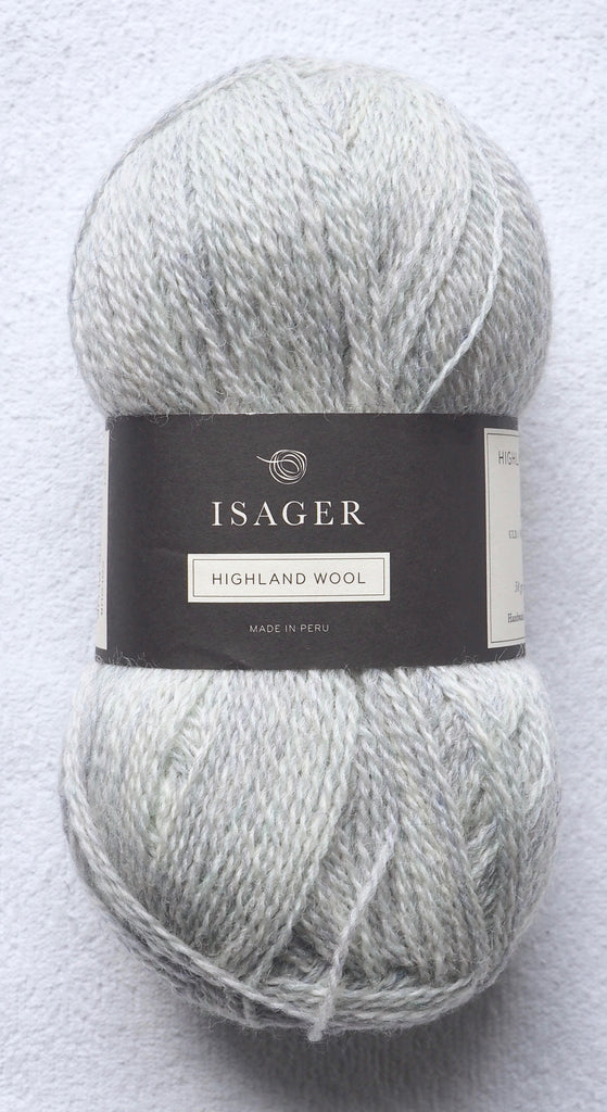Highland Wool, Ice Blue
