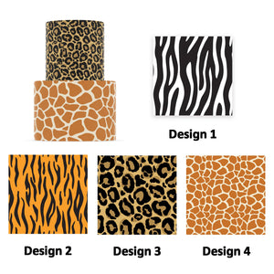 Safari Animal Prints- Icing Cake Wrap - printsoncakes