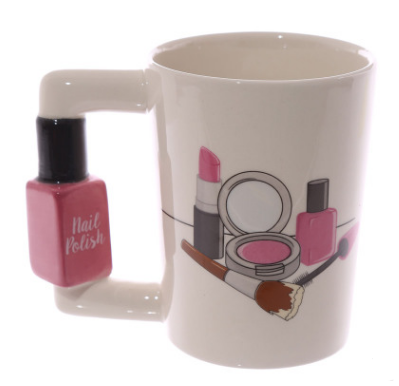 Cute Makeup Mug | Makeup Coffee Mugs