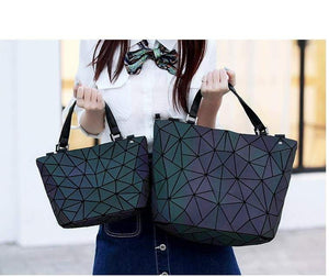 Luminous Geometry  Handbags / Shoulder Bags - Tab Trends