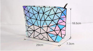 Geometric Hologram Handbag - Tab Trends