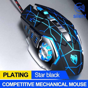 8D 3200DPI Adjustable Wired Optical LED Pro Gamer Mice