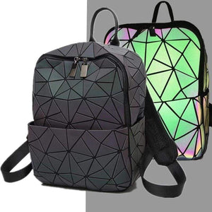 Luminous Geometry Backpacks - light up backpack