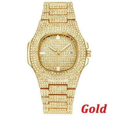 Iced Out Hip-Hop Watches