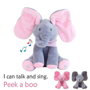 Flappy the Elephant - Singing Elephant - Peek a Boo