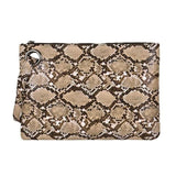 Snake Print Clutch | Snake Pattern Luxury Clutch Bags
