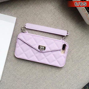 Luxury Phone Case /  Handbag Purse for iPhone XS Max/XR/X/8/7/6/6S/Plus