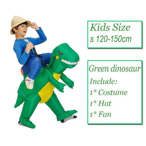 inflatable costumes dinosaur