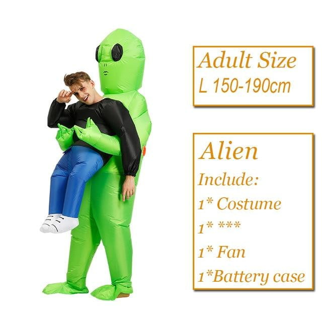 inflatable alien costumes