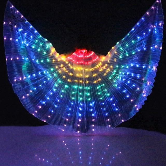 LED Butterfly Costume | Rainbow dance costume