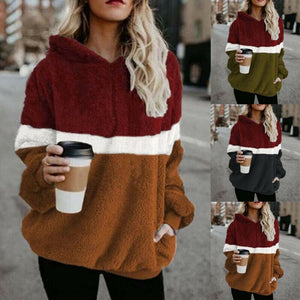 Sherpa Hooded Pullovers