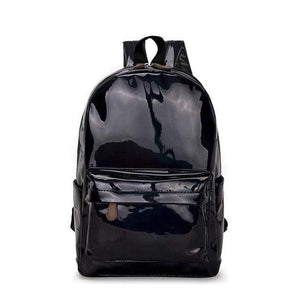 holographic backpack | Holographic Leather Backpack