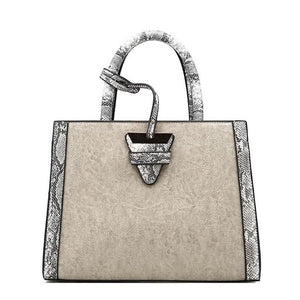 Snake Pattern Luxury Handbags | Snake Print Handbags