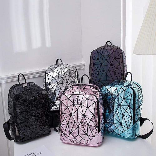 Geometric Sequin Backpack - Tab Trends