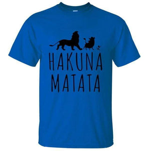 Hakuna Matata Premium T Shirt | Mens Cool Shirts 50%OFF | Tab4Trends