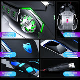 Pro Gamer  3200DPI Adjustable Wired Optical LED Mice