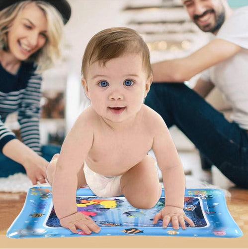 Baby Water Play Mat Kids Watermat 2-IN-1 Creative Gym Toys Kids Inflatable Activity Carpet Games Mat for Children