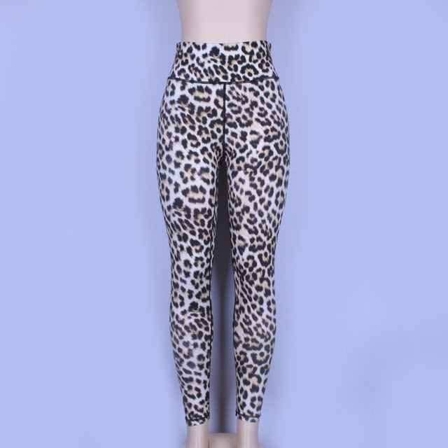 Leopard Print Workout Leggings