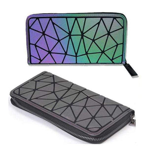 Geometry  Luminous Wallet - Purse