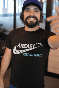 AREA 51 Just Storm it - Premium T-Shirt