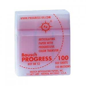 Bk52 Baush Progress 100 Disp. Plast. Rojo 300tiras