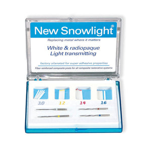 Snowlight Repos.10 Postes Verdes 0.8mm.