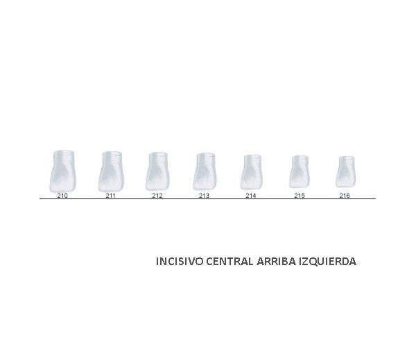 St5k215 Corona Acetato Central Sup. Izda. 5u.