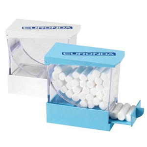 Dispensador De Rollos Algodon Blanco