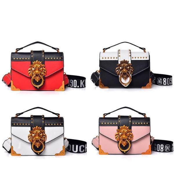 Lion Head Clutch-Clutch-Love Me Accessories -Black-Love Me Accessories