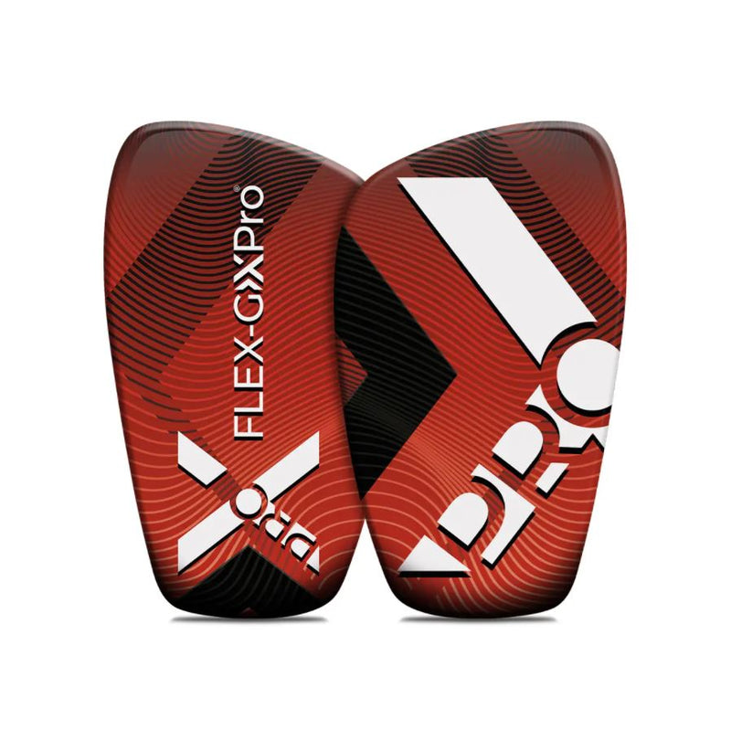 FLEX-GXPRO Shin Guards-Pads Red