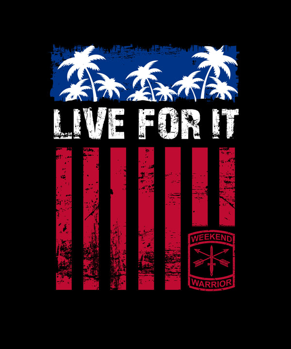 Live For It Red Stripes