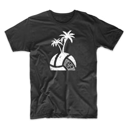 Island Volleyball Logo Face Down - Distressed Print