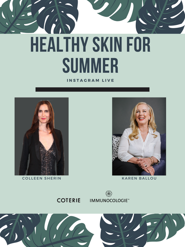Watch: Karen Ballou and Coterie's Colleen Sherin Discuss Total Body Wellness