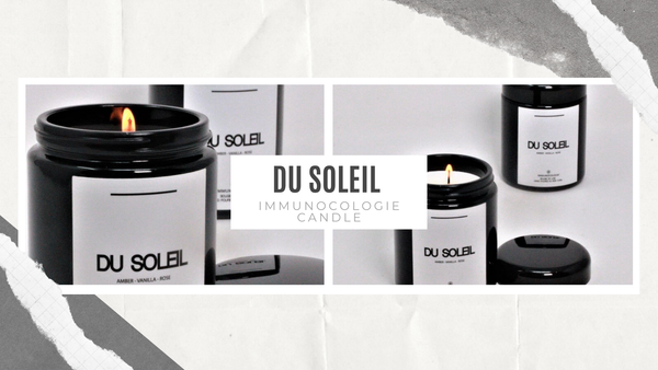 Combine Luxury and Self-Care With Immunocologie's New Du Soleil Candle