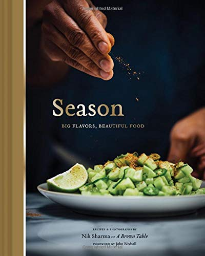 SIGNED! Nik Sharma. Season: Big Flavors, Beautiful Food