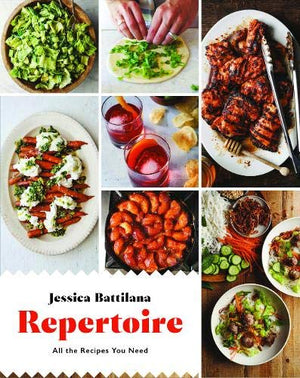 Jessica Battilana • Repertoire: All the Recipes You Need. SIGNED!