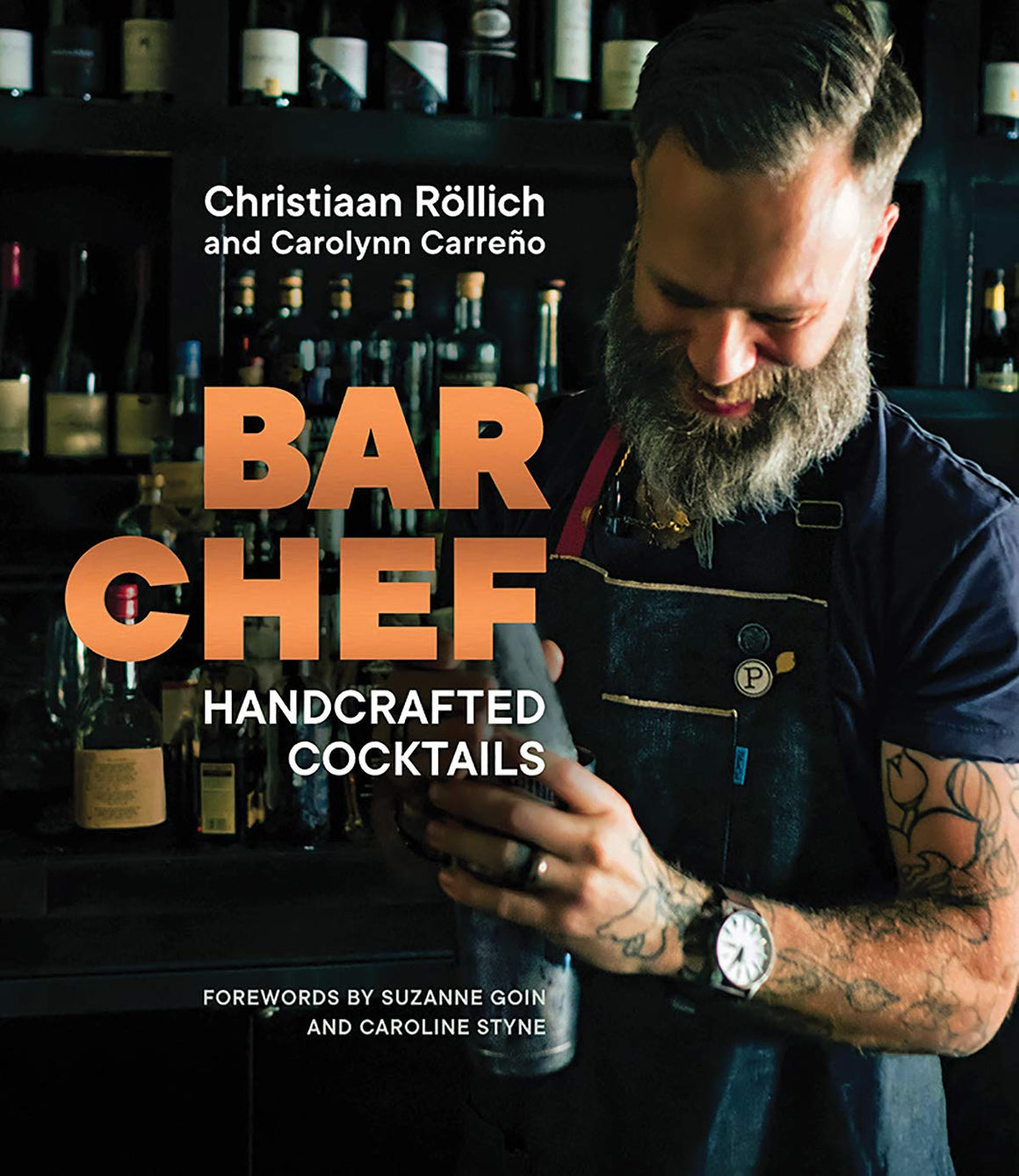 SIGNED! Christiaan Röllich. BAR CHEF: Handcrafted Cocktails