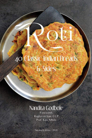 (Indian Bread) Nandita Godbole. Roti: 40 Classic Indian Breads & Sides. SIGNED!