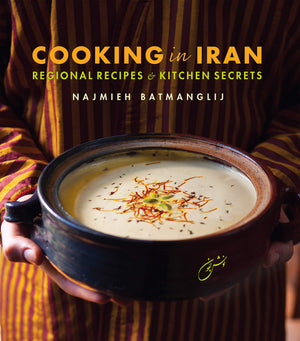 FREE AUTHOR EVENT! Sun. Nov. 10 • Najmieh Batmanglij • Cooking in Iran: Regional Recipes and Kitchen Secrets • 3:00 p.m.