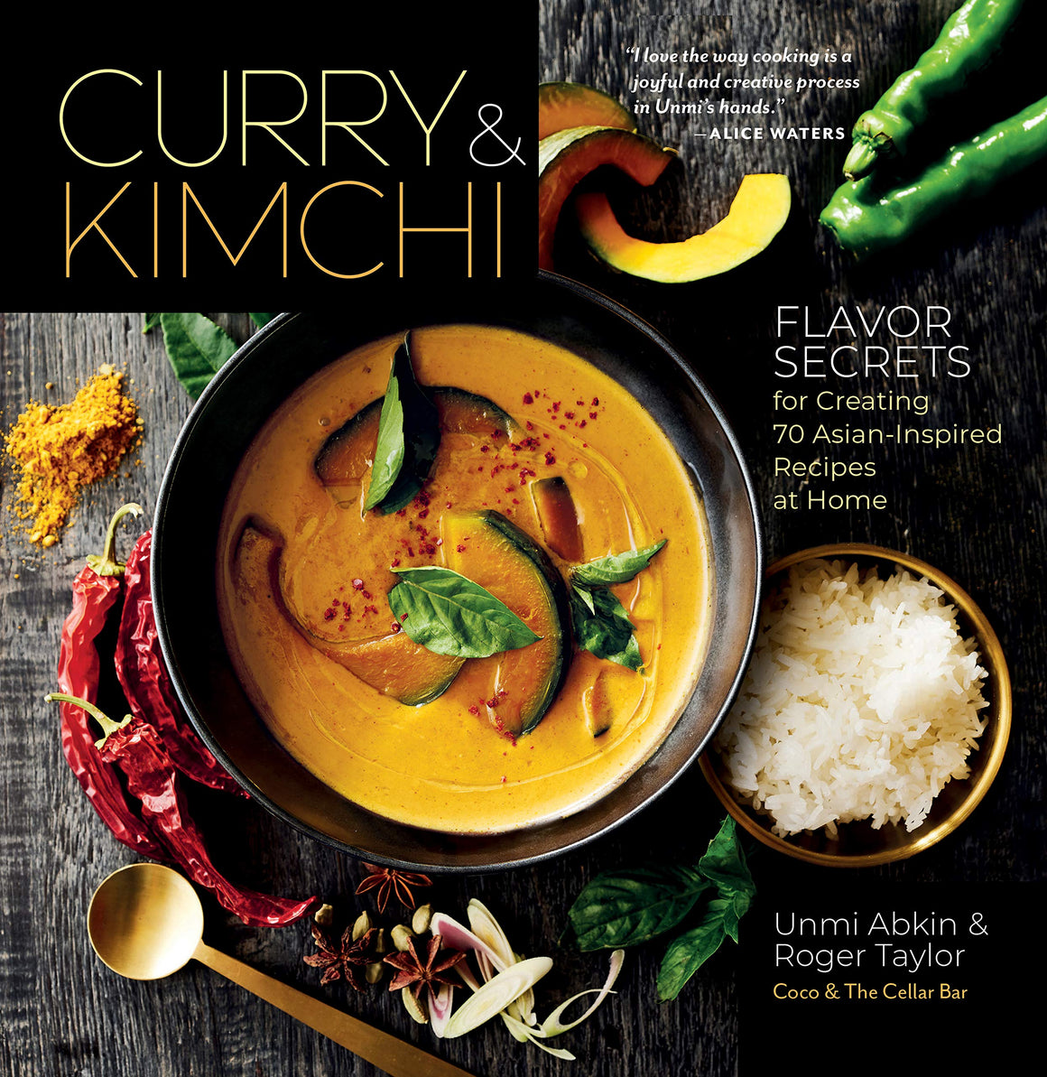 FREE AUTHOR EVENT! Thurs. Nov. 21 • Unmi Abkin & Roger Taylor • Curry & Kimchi: Flavor Secrets for Creating 70 Asian-Inspired Recipes at Home • 6:30 p.m.