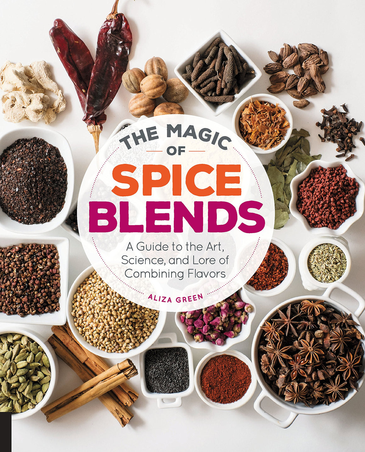 Aliza Green. The Magic of Spice Blends: A Guide to the Art, Science, and Lore of Combining Flavors.