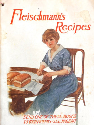 (Booklet)  Fleischmann's Excellent Recipes for Baking Raised Breads; also Directions for Making Refreshing Summer Drinks.