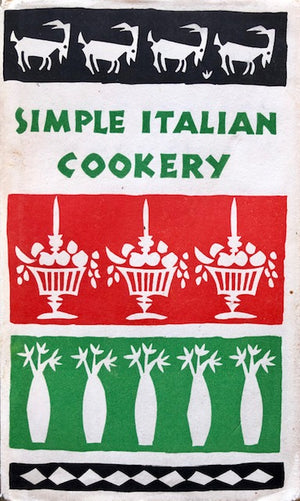 (Italian) Taglienti, Maria Luisa. The Italian Cookbook.