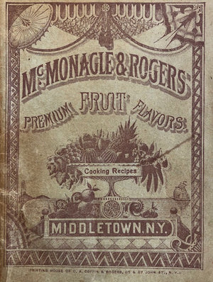 (Booklet)  McMonagle & Rogers Cooking Recipes.